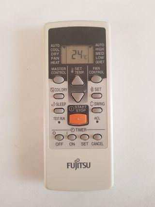 Mando aire acondicionado fujitsu