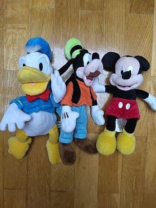 Lote peluche Disney