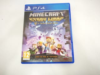 Videojuego Sony Ps4 Minecraft Story Mode