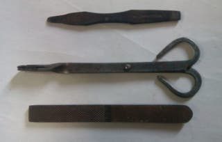 Lote de herramientas antiguas