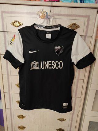 Camiseta segunda equipación Málaga cf 12/13