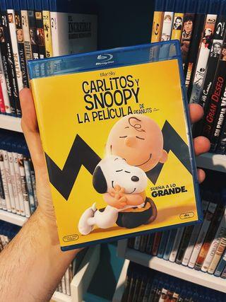 Carlitos y Snoopy La película Bluray