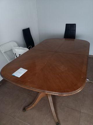 mesa de madera ,