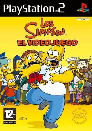 Los Simpsons El Videojuego, Playstation Ps2