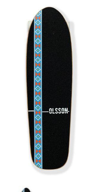 Skate Monopatín. Cruiser Olsson Native Lands
