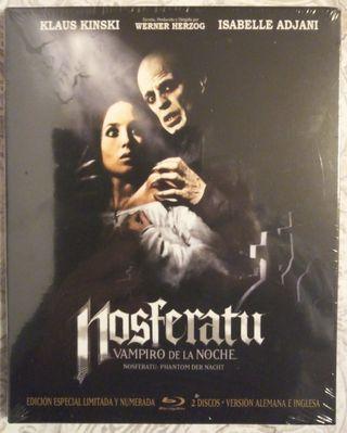 Nosferatu edición especial limitada (2 blurays)