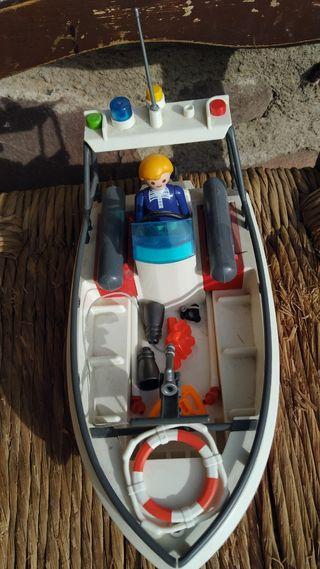 barco de playmobil