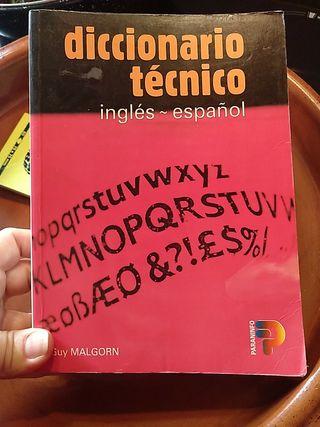 diccionario técnico inglés español