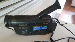 Video cámara antigua Panasonic Rx50 como nueva