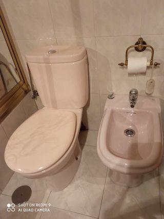 Se vende taza wc bide y lavabo con grifo