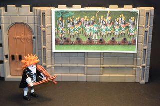 Playmobil 3D cuadro para pared STECK