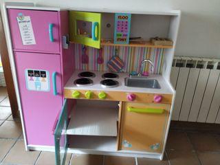 cocina infantil madera