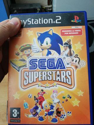 Juego ps2 playstation 2 SEGA SUPERSTARS