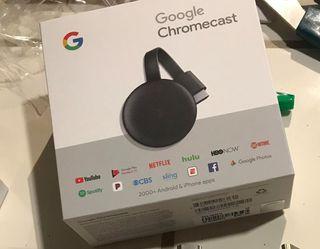 Google Chromecast 3 nuevo