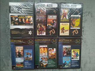 DVD Cine del Oeste II 3x1 precintados