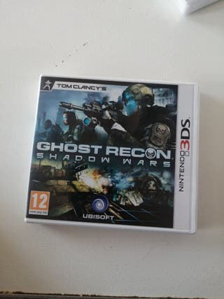 GHOST RECON SHADOW WARS NINTENDO 3DS