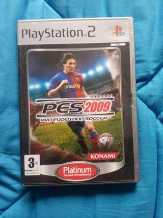 PES 2009. PlayStation 2.PS2.