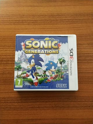 Sonic Generations para Nintendo 3DS