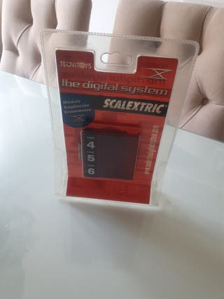 cronómetro scalextric digital system ampliación