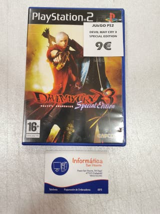 Videojuego Devil May Cry 3 SPECIAL EDITION / PS2
