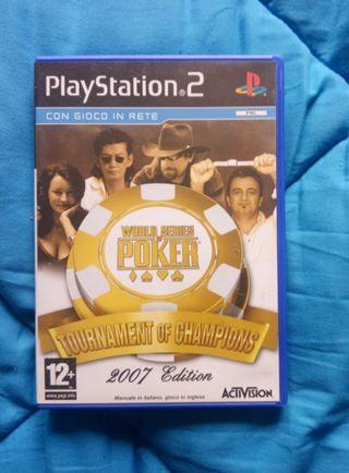 World series poker .PS2.PlayStation 2.