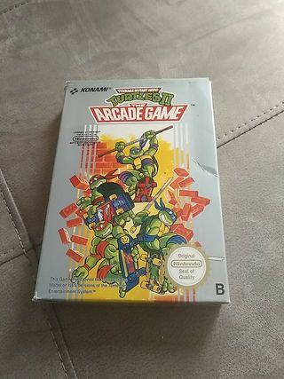 Turtles II Nintendo NES.