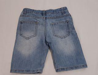pantalón corto verano para niño 6-7 años