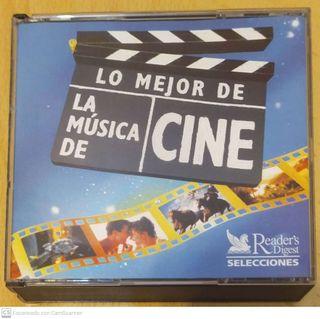 LO MEJOR DE LA MUSICA DE CINE - 5 CD 1996 PORTUGAL