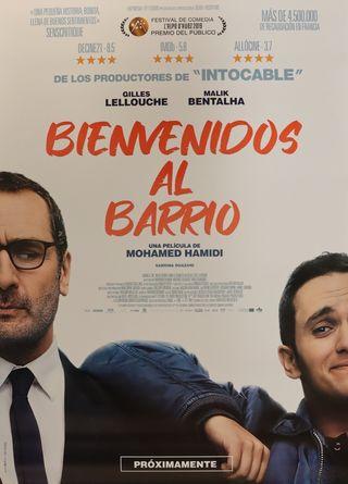 PÓSTER BIENVENIDOS AL BARRIO