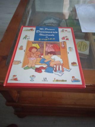 libro mí primer diccionario ilustrado en inglés