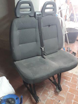 asiento doble