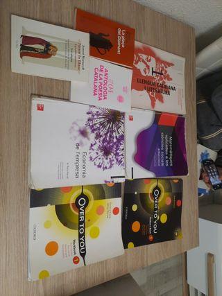 Libros 1r de Bachillerato