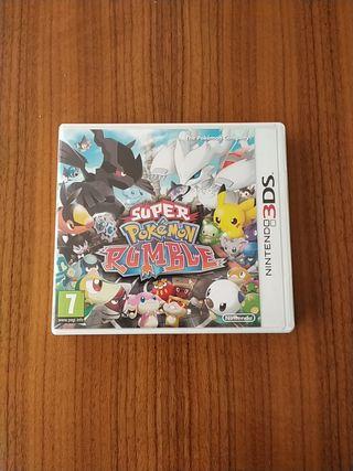 Super Pokemon rumble para Nintendo 3DS