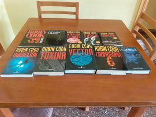 Colección 10 novelas Robin Cook.