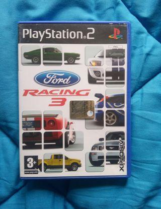 Ford Racing 3. PS2.PlayStation 2.