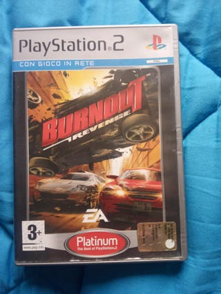 Bournout Revenge. Playstation 2.PS2.