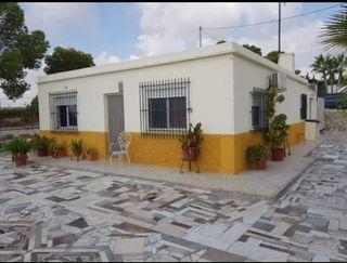 Casa de Campo de Albatera, reformado por dentro.