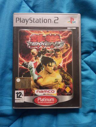 Tekken 5 - Ps2.Playstation 2.