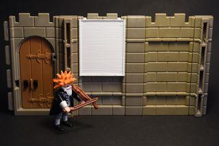 Playmobil 3D cuadro de pared medieval