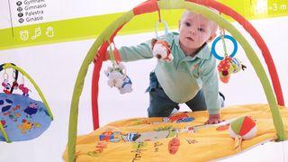 Alfombra gimnasio para bebés de Jané