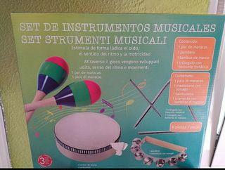 set NUEVO de instrumentos musicales
