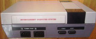 Consola antigua NASA compatible con Nintendo NES