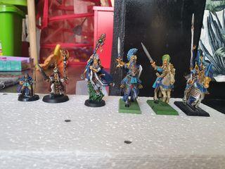 Altos elfos variados
