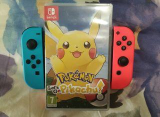 Juego Switch Pikachu