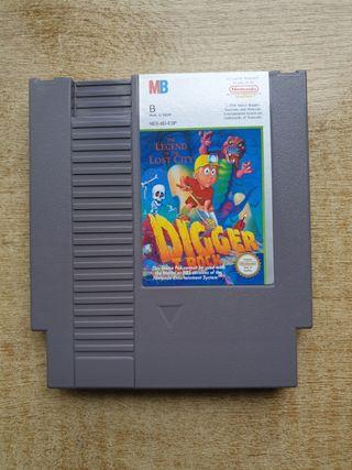 DIGGER T ROCK NINTENDO NES
