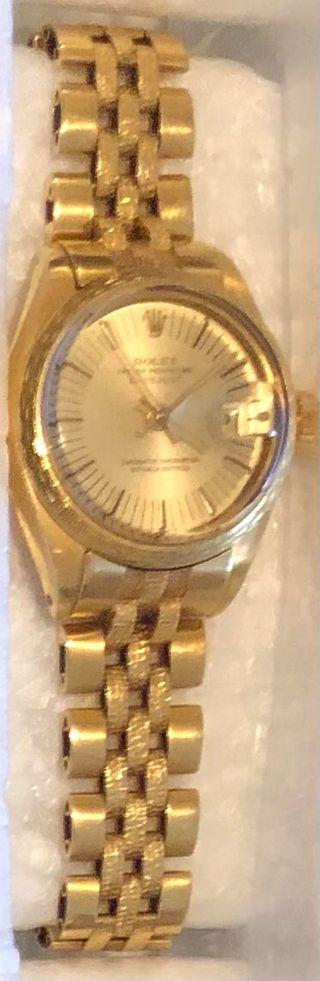 Reloj Rolex Oro