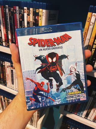 Spider-Man Un nuevo universo Bluray