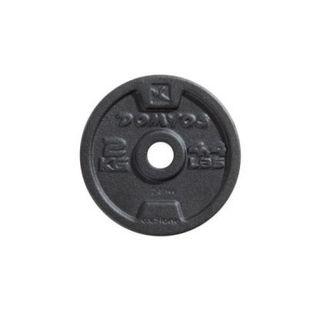 6 discos para pesas de 2 kg