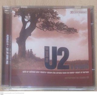 THE BEST OF U2 A TRIBUTE - CD
