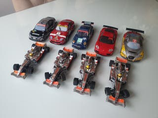 coches scalextric digital system.
